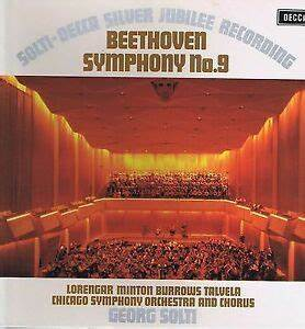 George Solti Silver Jubilee Record,Beethoven 9,Chicago ...