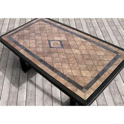 tiled patio table tile top patio table