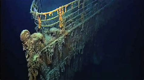 titanic wrecksite  full moon ocean today