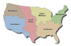 Great Plains Region Map