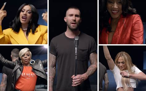"Maroon 5 & Cardi B's Cameo-packed ""girls Like You"