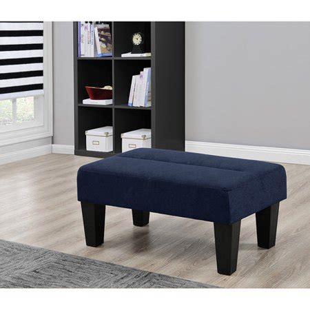 upholstered ottoman bench seats kebo ottoman gray blue black microfiber upholstered bench