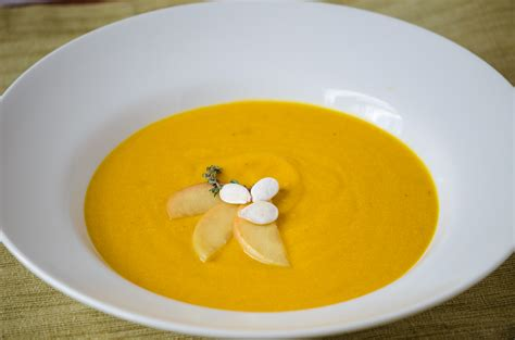 ski cuisine a pairing for thanksgiving pumpkin soup and