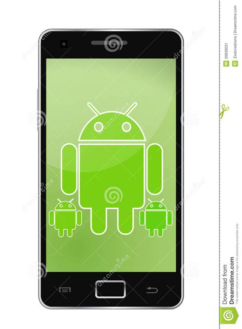 Android Phone Editorial Photo Illustration Of System