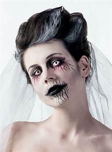 Zombie Schminken Bilder : halloween make up tutorial geisterbraut ~ Frokenaadalensverden.com Haus und Dekorationen