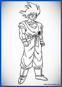 Chidos dibujos de dragon ball para colorear Dibujos de Dragon Ball Z
