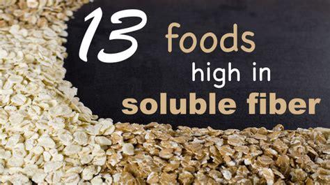 top  foods high  soluble fiber    lose