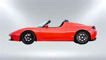 Tesla Cars Side Roadster Evolution Morphing Evolved