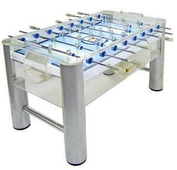 classic sport brand foosball table so classic sport x0804 clear acrylic foosball table soccer