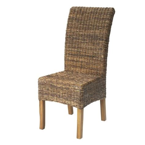 chaises alinéa alinéa samourai chaise en abaca naturel pas cher achat