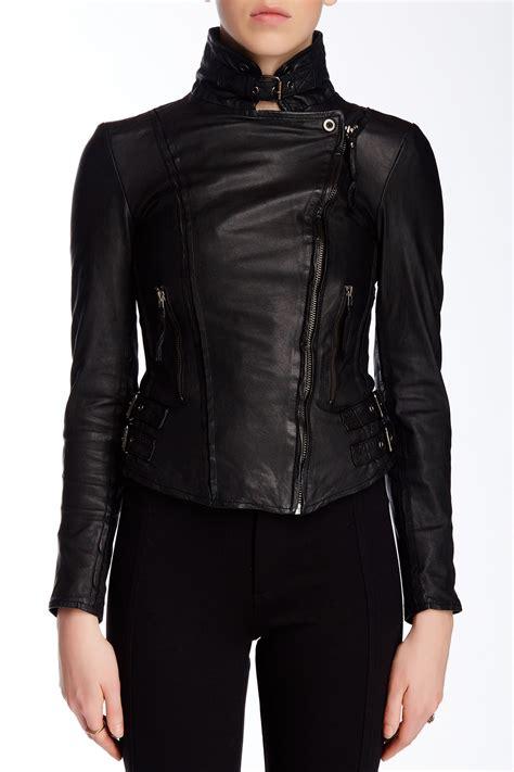 nordstrom rack leather jacket muubaa leather biker jacket nordstrom rack