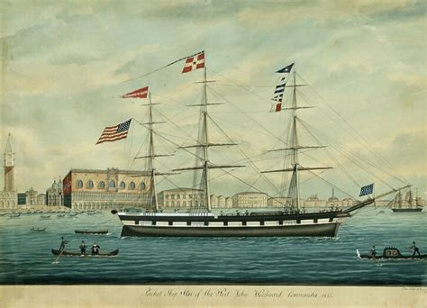 Monterey Boats Revenue by Packet Quot Of The West Quot In Venice American Merchant