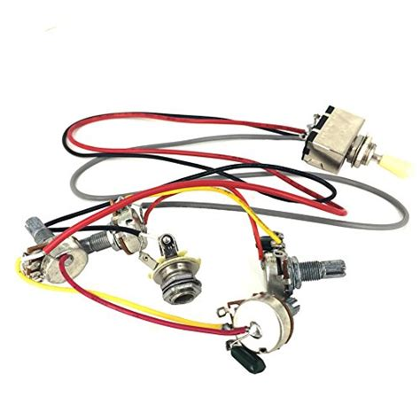 Gibson Guitar Wiring Harness Prewired Way Toggle