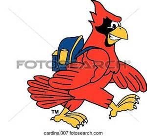 Cartoon Cardinal Clip Art