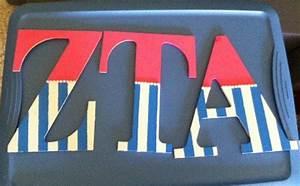 zta letters sorority recruitment pinterest With zta letters