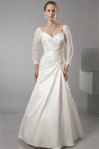 simple long lace wedding dresses with long sleeve ideal With simple long wedding dresses
