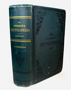 1889 Antique Farming Manual Farmer Horse Cow Barn Bees