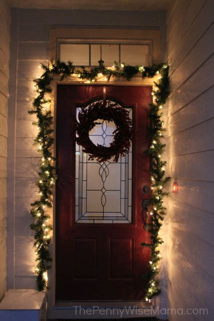 garland around front door treetopia lit pine garland review the pennywisemama 3736