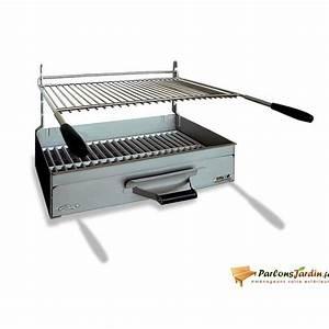 Barbecue A Poser : barbecue charbon de bois poser arles en acier achat ~ Melissatoandfro.com Idées de Décoration