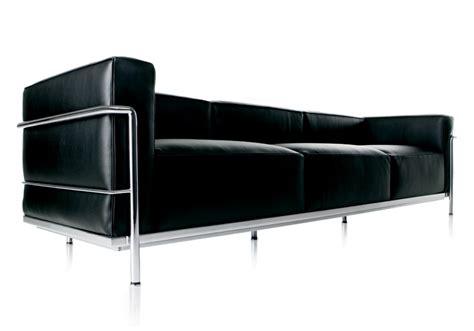 canapé lc3 lc3 canapè 3 places cassina milia shop