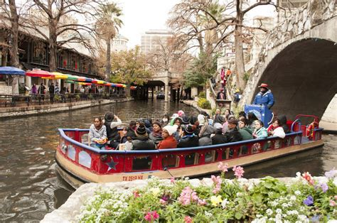 Riverwalk Boat Ride Prices by San Antonio River Walk Boat Tour Editorial Photo Image