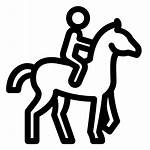 Riding Horseback Icon Horse Icons8 Icons Horses