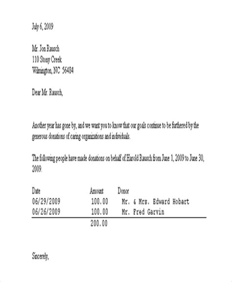 church donation receipt letter template donor acknowledgement letter template clergy