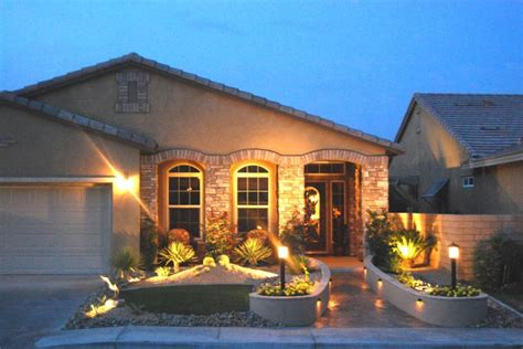 triyae landscaping lighting ideas for front yard