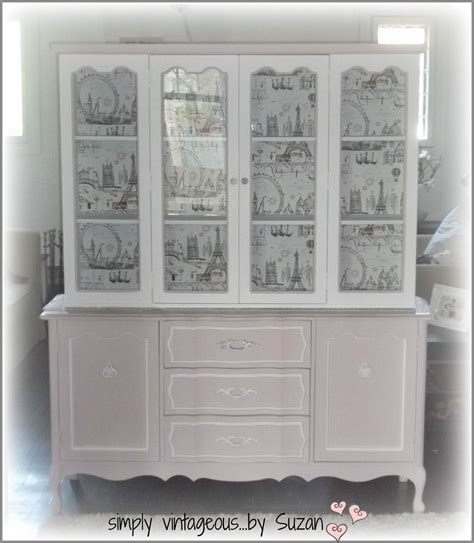 Painted Hutch Ideas - hometalk a painted hutch makeover