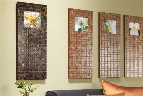 turn tiles into artistic photo frames my home my style