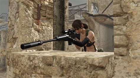 gear metal quiet solid dlc patch character mgo konami sniper rifle notes playable gameranx revealed update info captured hq vg247