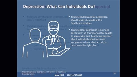 webinar major depressive disorder  overview