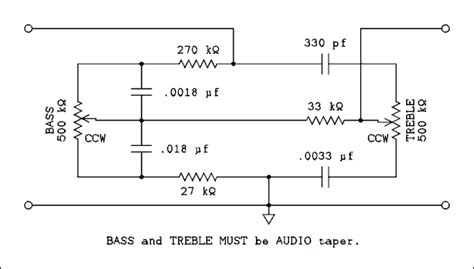 Audio Amplifiers Tone Control Circuits Electronic