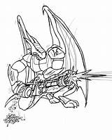 Zephyr Minigun Coloring Pages Template sketch template
