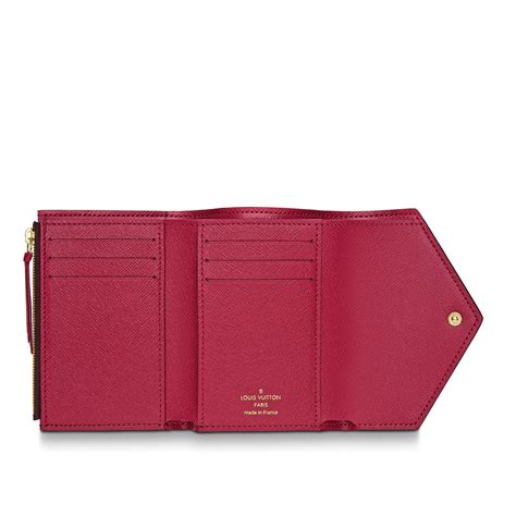 victorine wallet monogram canvas small leather goods