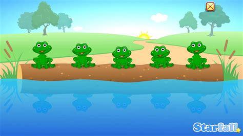 speckled frogs  starfall   starfa