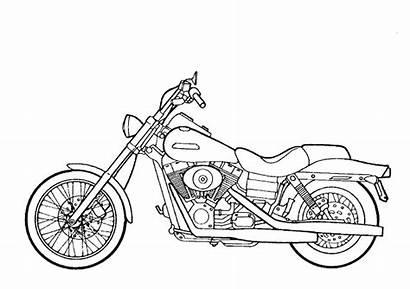 Dibujos Colorear Motos