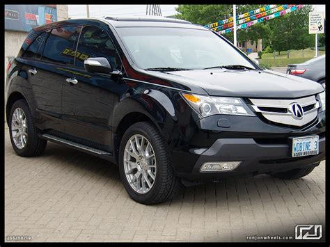 Mdx With Wheels Running Boards Acura