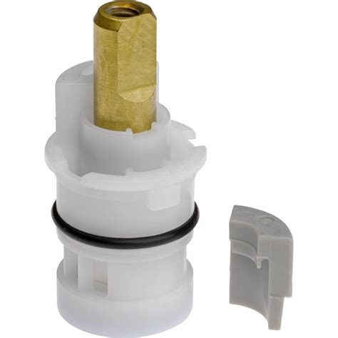 Delta Water Faucet Cartridge by Delta Ceramic Stem Cartridge For 2 Handle Faucets In White