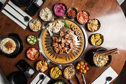 Korean Bbq Barbecue Table Grills