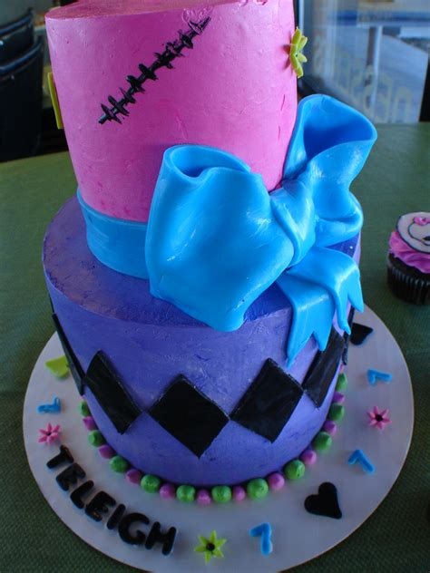 7 years of survival, 7 years of silly decisions and 7 years of wonderful memories! Birthday cake for a 7 year old girl | Bozeman, Montana. Tier… | Flickr