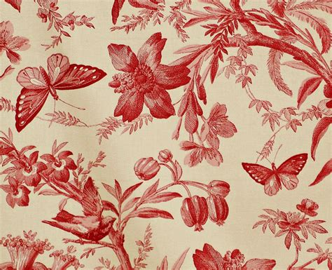 bird toile pattern antique textiles toile