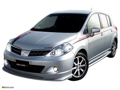 Nismo Nissan Tiida Hatchback S-Tune (C11) 2008 wallpapers ...