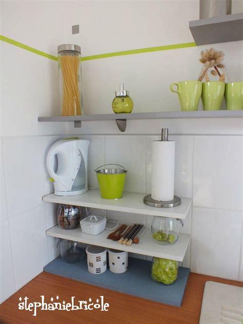 diy deco cuisine des nouvelles étagères 100 récup pour la cuisine bois