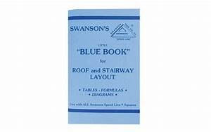 Swanson U0026 39 S  U0026quot Little Blue Book Of Instructions For Roof