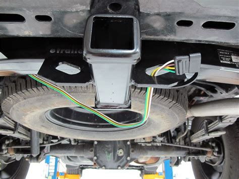 2002 Nissan Frontier Trailer Wiring by Curt T Connector Vehicle Wiring Harness With 4 Pole Flat