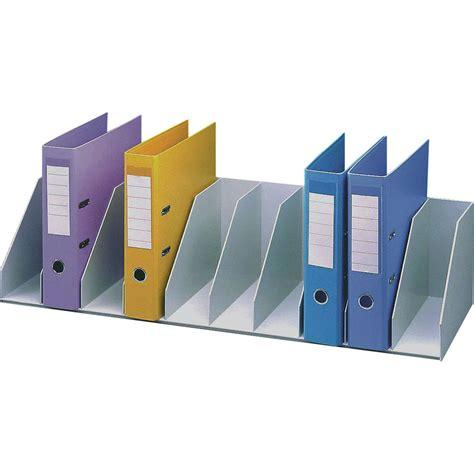 paperflow trieur pour étagère 10 cases fixes gris module