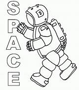 Coloring Space Pages Printable Print sketch template