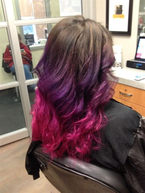 My New Pink And Purple Ombre Hair Hairology Ombre Hair