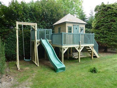 Spielhaus Kinder Holz Lustige Kinderspiele Für Draußen Mit